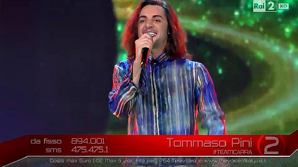 tommaso-pini-finalista-the-voice-01   Ascolti Tv Blog