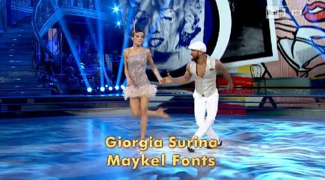 giorgia-surina-maykel-fonts-ballando-con-le-stelle-8-novembre