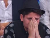 emanuele bertelli piange