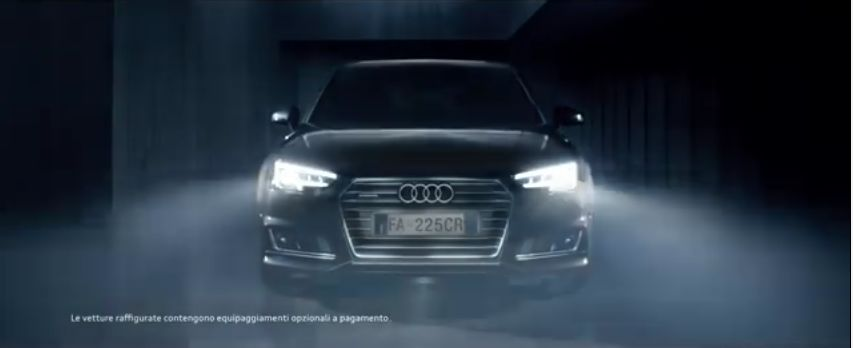 pubblicit audi a4 canzone campagna video spot. Black Bedroom Furniture Sets. Home Design Ideas