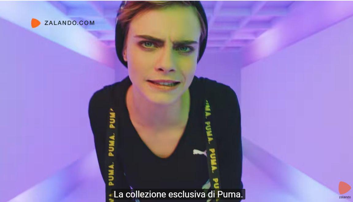 La modella della pubblicità Puma x Zalando cf4da860ac8b